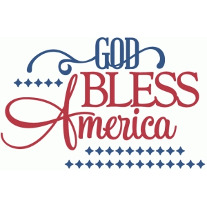 Download Silhouette Design Store - View Design #44832: god bless ...