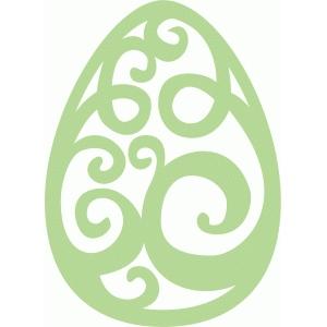 Silhouette Design Store View Design 57752 Easter Egg
