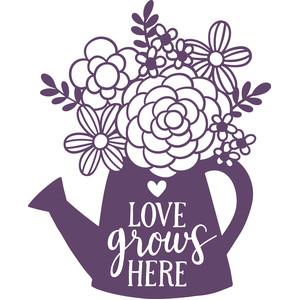 Download Silhouette Design Store - View Design #275143: love grows ...