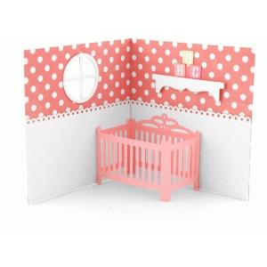 Silhouette Design Store View Design #65324 Baby Crib