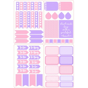 Silhouette Design Store View Design #95624 Pink