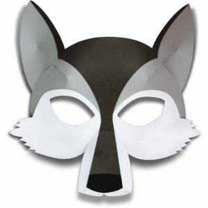 Silhouette Design Store View Design #76444 Wolf Mask