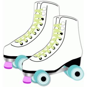 Silhouette Design Store View Design #79046 Roller Skates