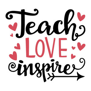 Download Silhouette Design Store - View Design #198376: teach love ...
