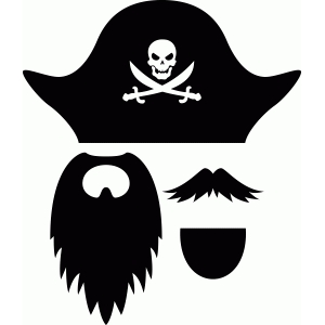 Silhouette Design Store View Design #49886 Pirate
