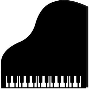 Silhouette Design Store View Design #119117 Grand Piano