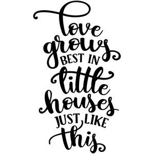 Download Silhouette Design Store - View Design #270497: love grows ...