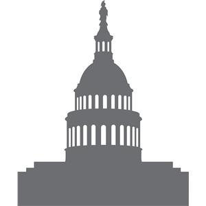 Silhouette Design Store View Design #17348 Us Capitol