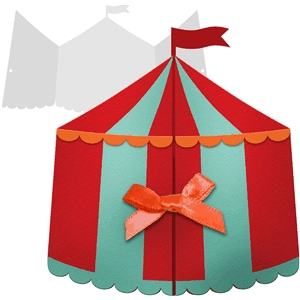Silhouette Design Store View Design #30188 Circus Tent Card