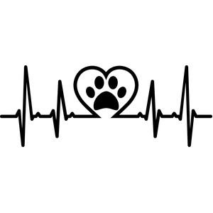 Download Silhouette Design Store - View Design #180829: heartbeat ...