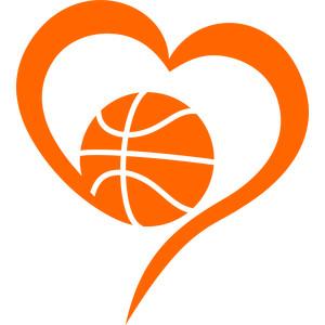 Silhouette Design Store View Design #212339 Love Basketball
