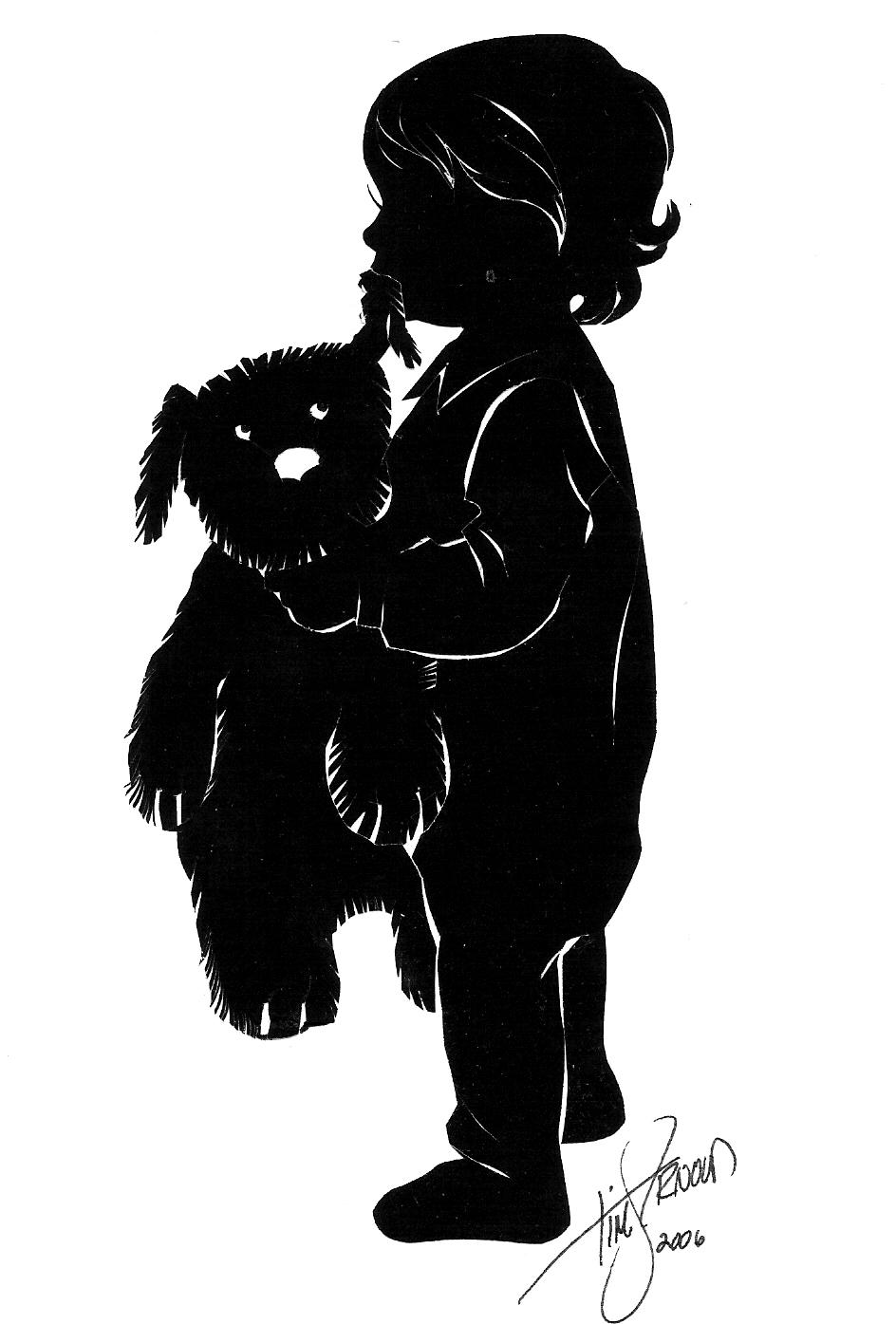 silhouette artist tim arnold