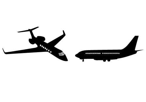Two Awesome Free Boeing 747 Vector Graphics Free Download