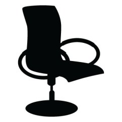 Office Chair Vector Lounge Patio Furniture Silhouette Free Download