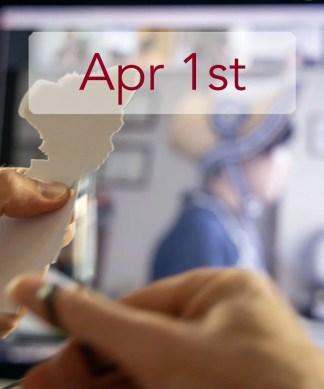Apr 1st