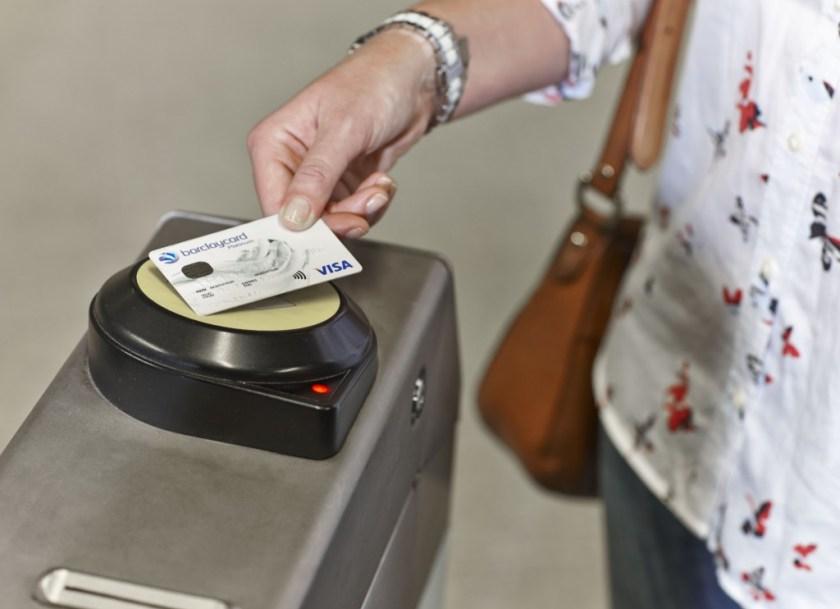 TFL contactless payment