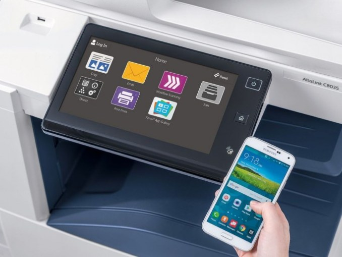the operating concept of the new Xerox printer (picture: Xerox)