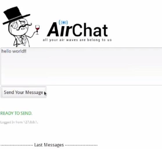Anonymous présente un service de chat sécurisé par onde