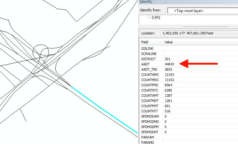 ArcMap Showing Negative Values?