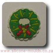 Christmas Wreath Silicone Mould
