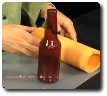 beer bottle isomalt-sil