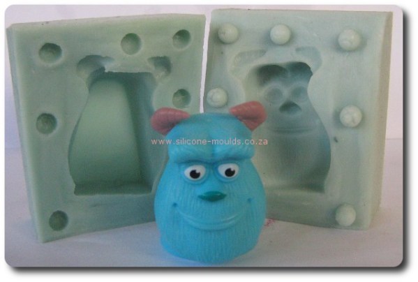 3 D Monster In Silicone Mold