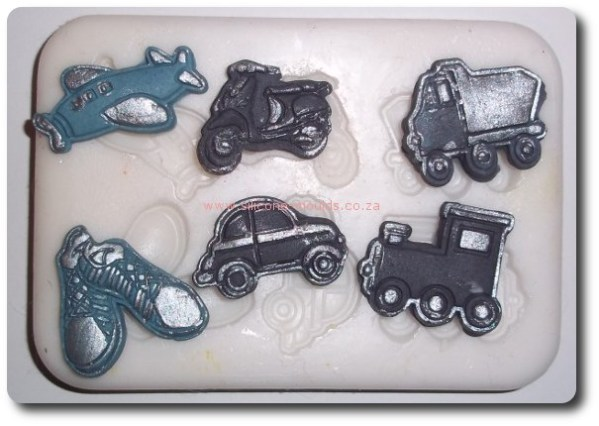 Transport Set Silicone Mould
