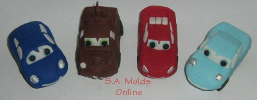 Cars Silicone Mold