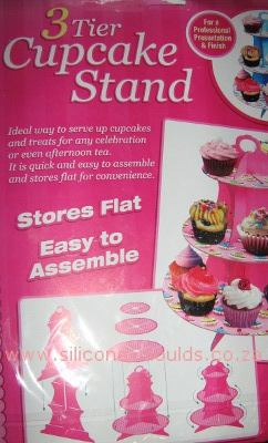 Cupcake Stand Large-sil