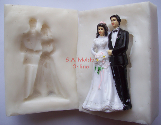 3 D Bride and Groom 1