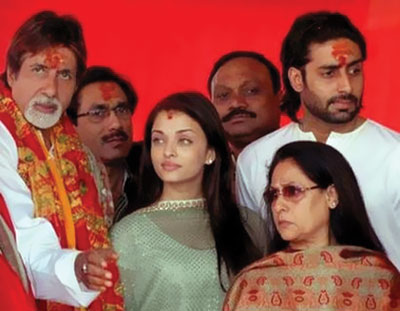 Amitabh Bachchan family photo