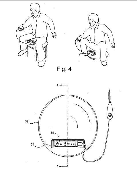 Nintendo's Patented Horseback Riding Wii Controller