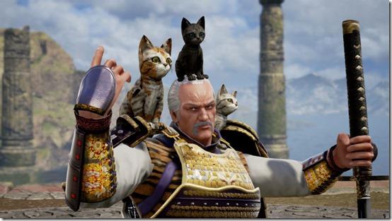 SoulCalibur 6 DLC cats