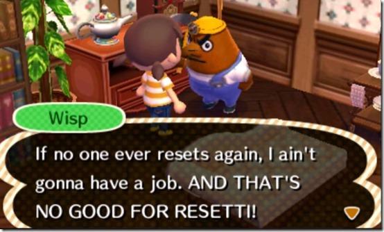 animal crossing resetti