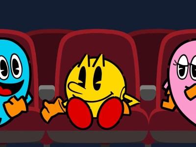 pac-man movie video