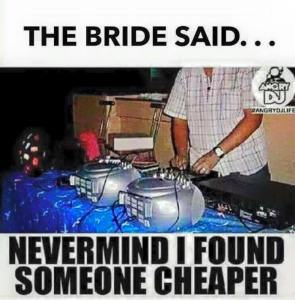 Cheap DJs