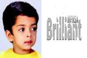 Indian Wonder Boy at 3 Gets into Mensa with IQ Of 132 ...