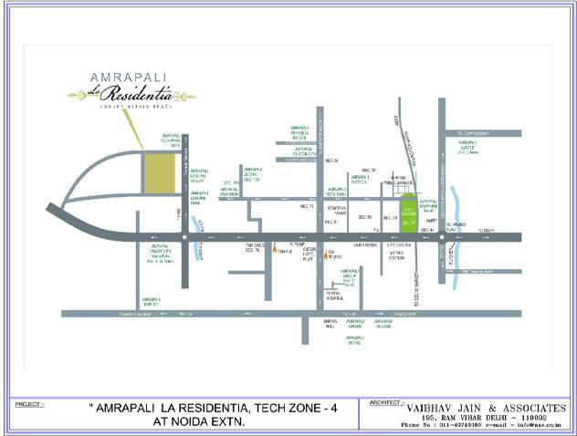 Amrapali La Residency Key Plans  Amrapali group Noida