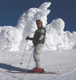 Wally on the Mountain