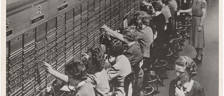 Bell System Telephone Switchboard