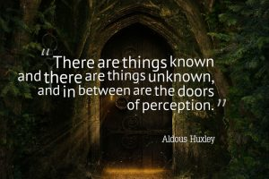 Aldous Huxley quote - The War on Consciousness
