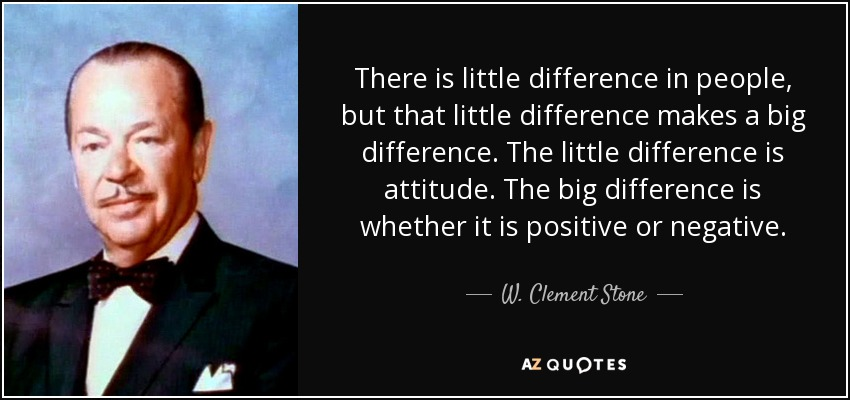W. Clement Stone - Forced Positivity