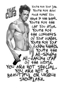 """""""You're not your job or the editor of ZH…"""" Tyler Durden"""