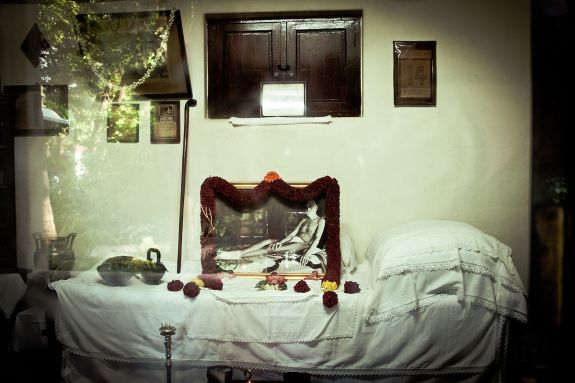 Sri Ramana Maharshi Mahanirvana in Ramanasramam