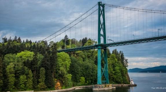 2017 - Vancouver - Lions Gate Bridge South Pier