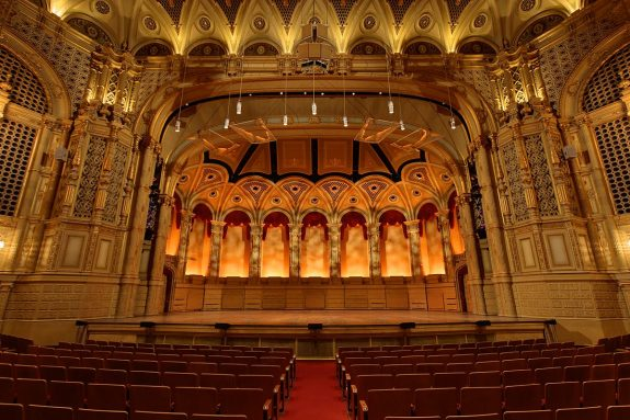 Orpheum Theatre Vancouver View Of Stage