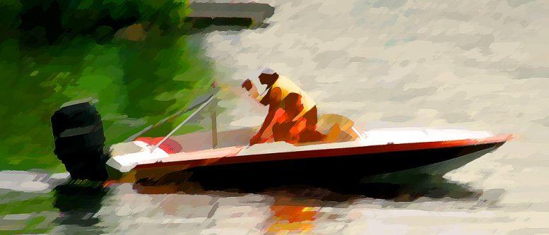 Speedboat / Lake Cordova
