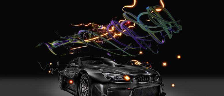 2017 M6 GT3 Art Car by Cao Fei