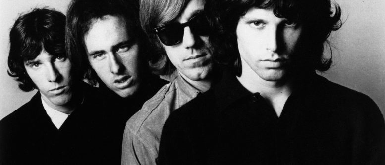 Promotional photo of the Doors in late 1966