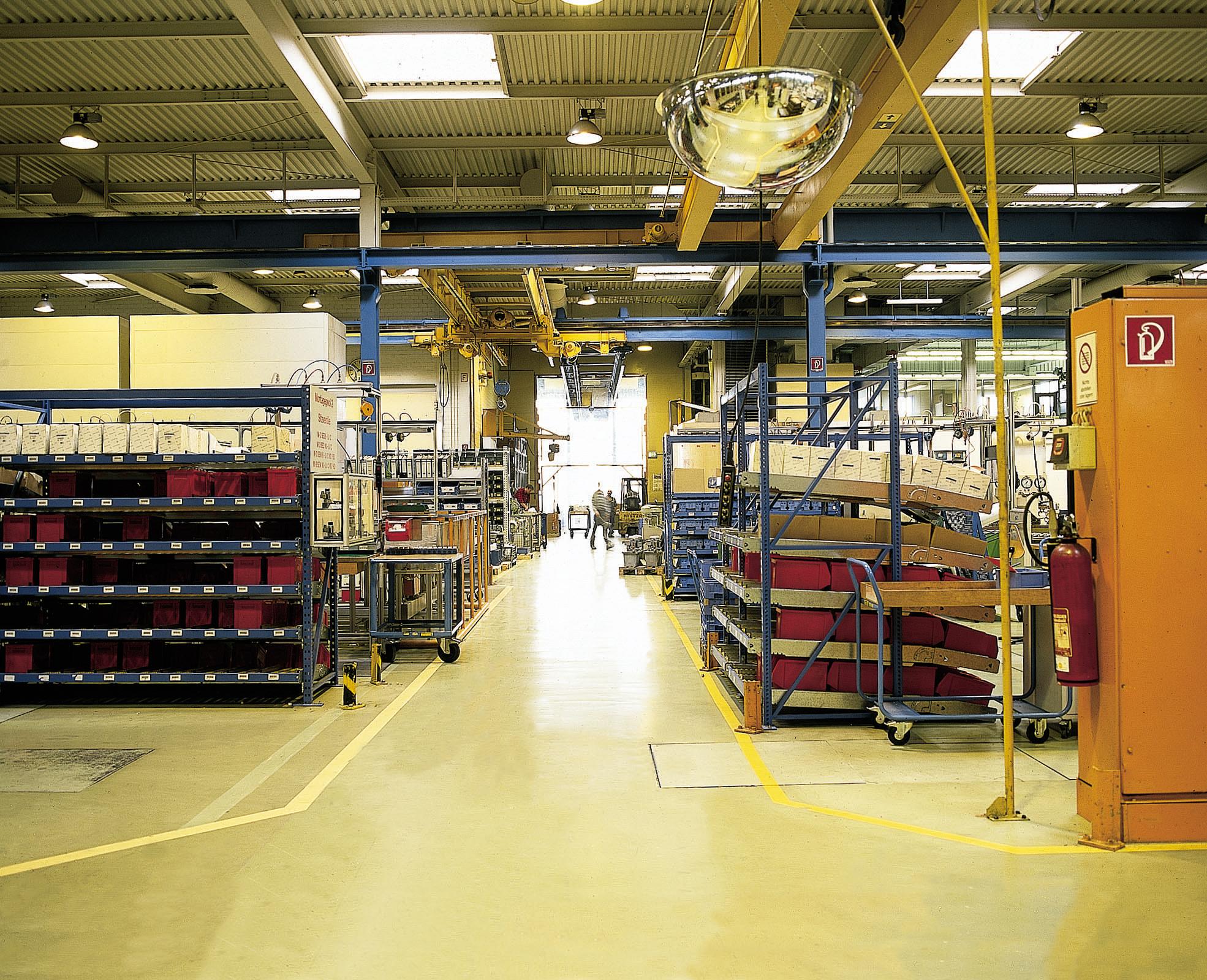 Machine Shop Flooring  Mechanism Engineering Floors  Silikal